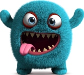 Image result for scary monster