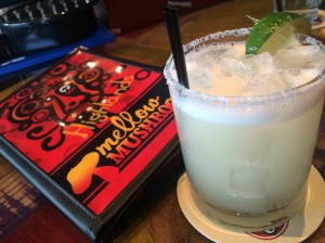 The El Tropical margarita at Mellow Mushroom uses pineapple juice instead of sour mix. It's so yummy, I had three!