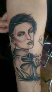 Too soon to ink Ruby Rose?