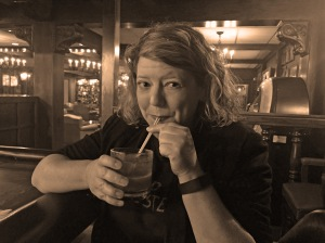 An old fashioned photo for an Old Fashioned drink.