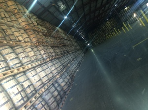 43,000 Bulleit barrels are currently aging in Shelby County.