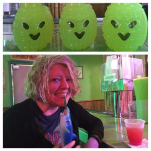 From my last trip to New Orleans last fall ... Hand Grenades are always on my mind.