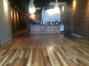 A shiny new old bar!