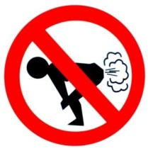 No crop dusting in spin class, please.