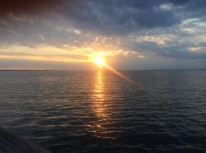 Pretty sunset ...