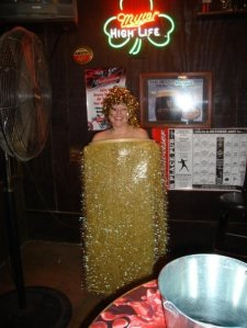 I once went as a Golden Shower.