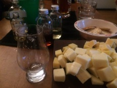 Our first session involved cheese ... and lots of it.