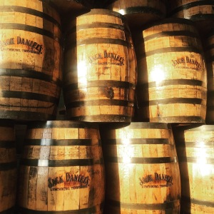 Bourbon & Beyond barrels