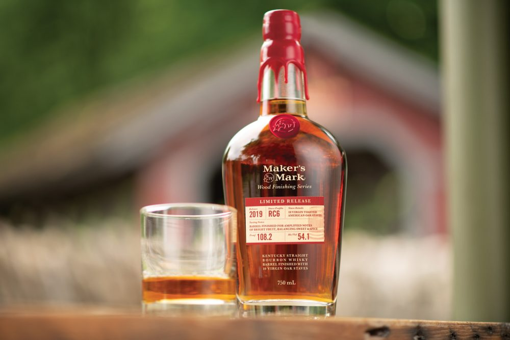 Maker's Mark bottle