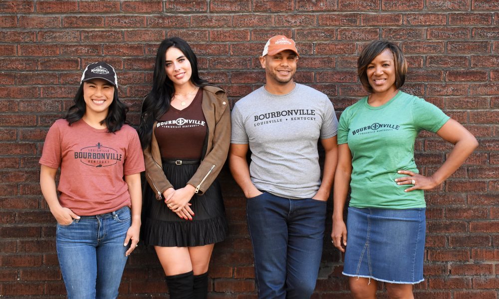 BourbonVille apparel