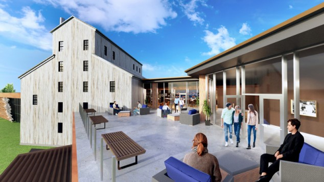 Heaven Hill rooftop rendering