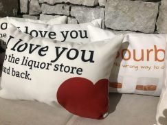 bourbon pillow