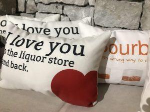 bourbon pillow