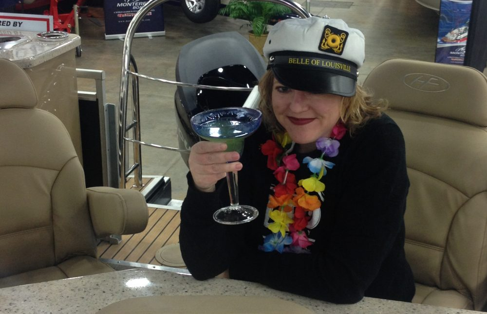 Bar Belle at the Louisville Boat Show