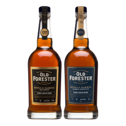 Old Forester bottles
