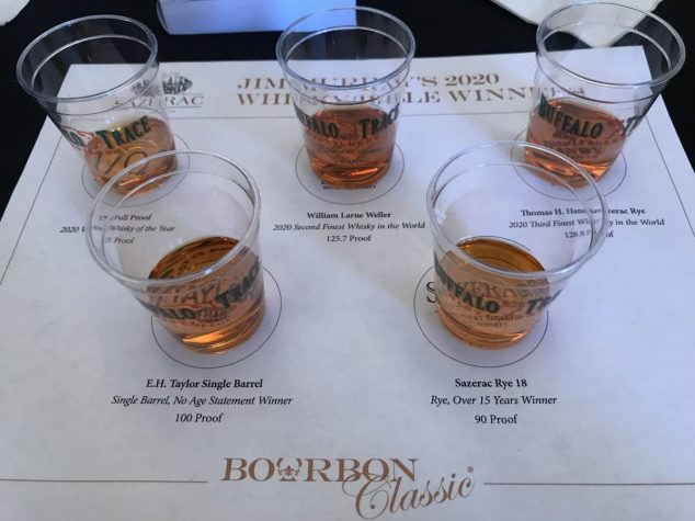 shots of bourbon