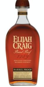 Elijah Craig Barrel Proof bottle