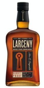 Larceny Barrel Proof bottle