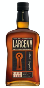 Larceny Barrel Proof bottle