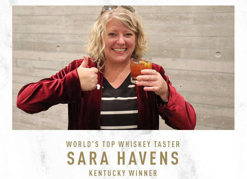 World's Top Whiskey Taster winner