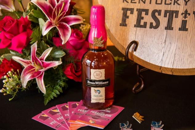 Evan Williams Kentucky Derby Festival bottle