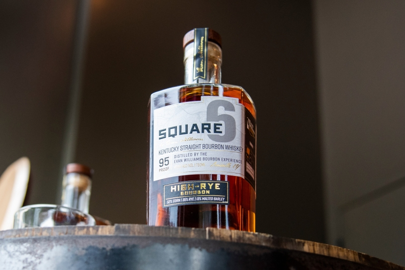 Square 6 bottle