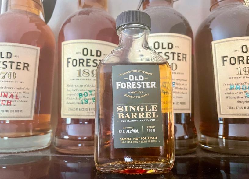Old Forester Single Barrel Rye