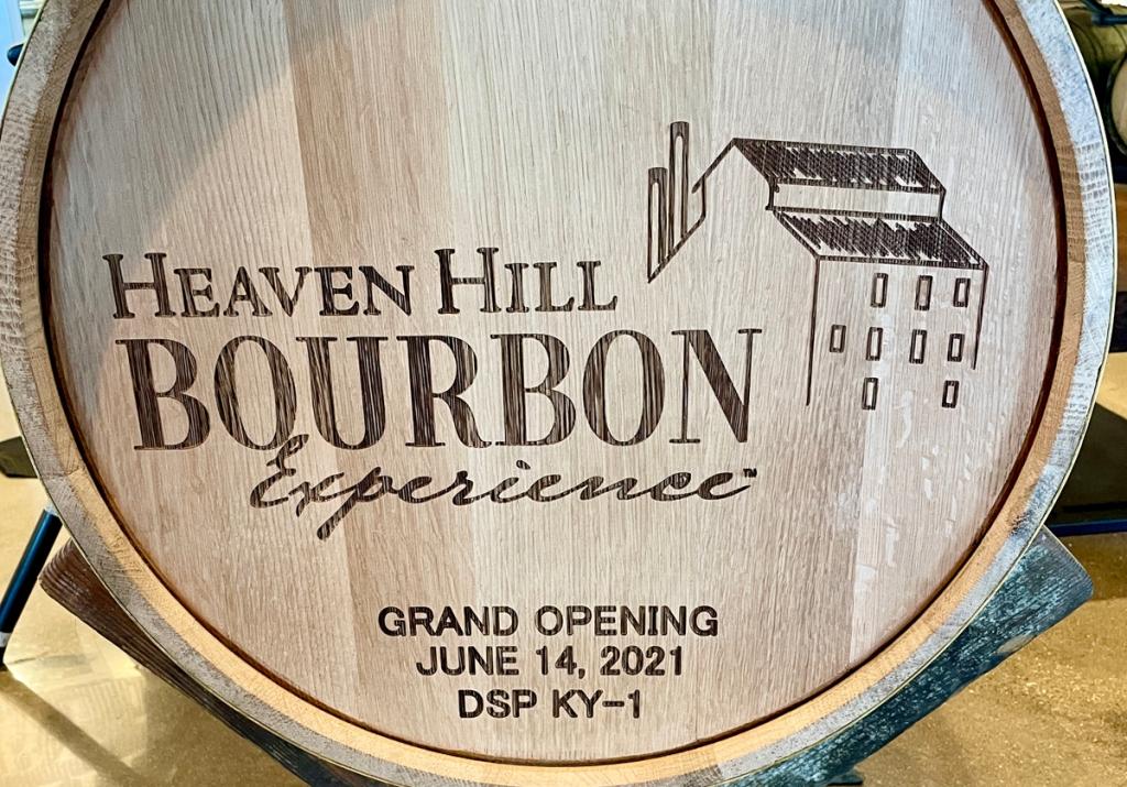 Heaven Hill barrel