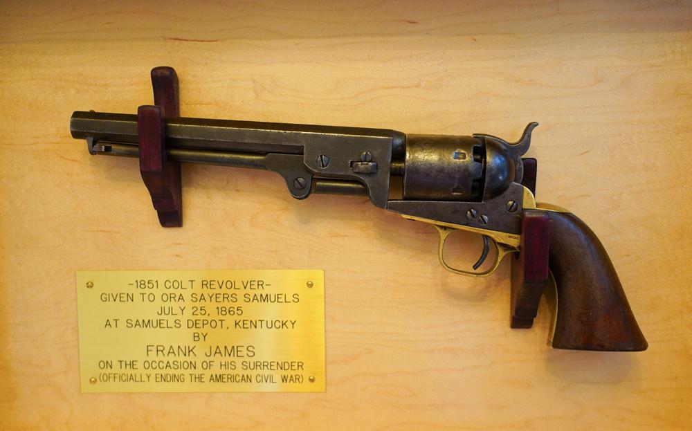 The infamous pistol