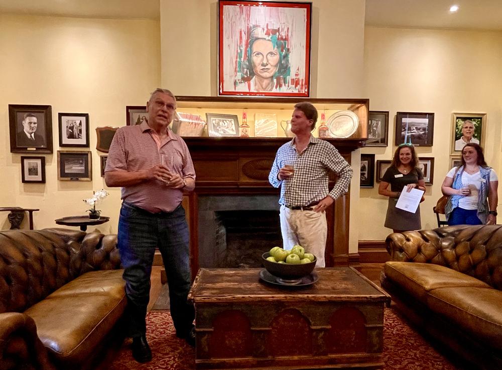 Bill Samuels Jr. and Rob Samuels