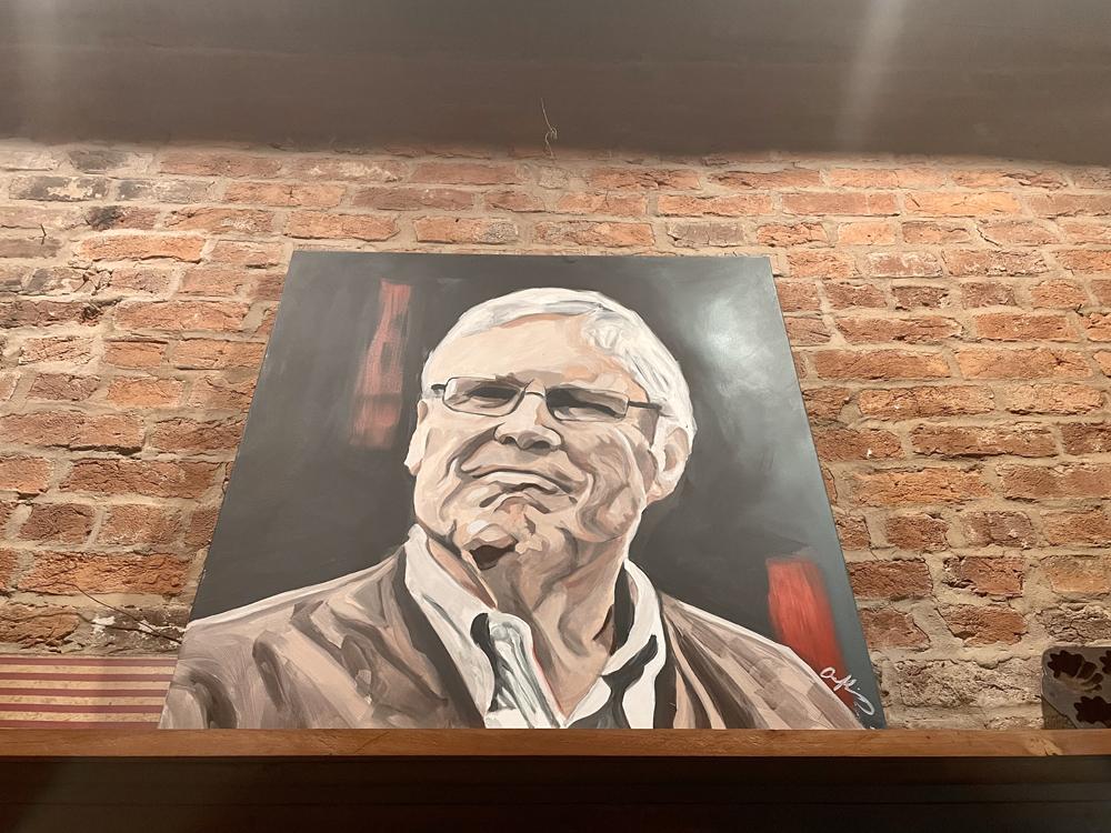 A portrait of Bill Samuels Jr.
