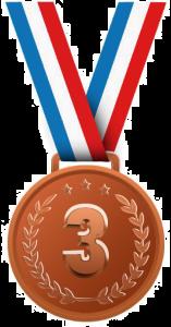 Bronze Medal Winner