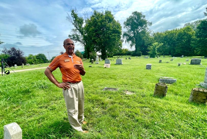 Freddie Johnson at Green Hill Cemetery