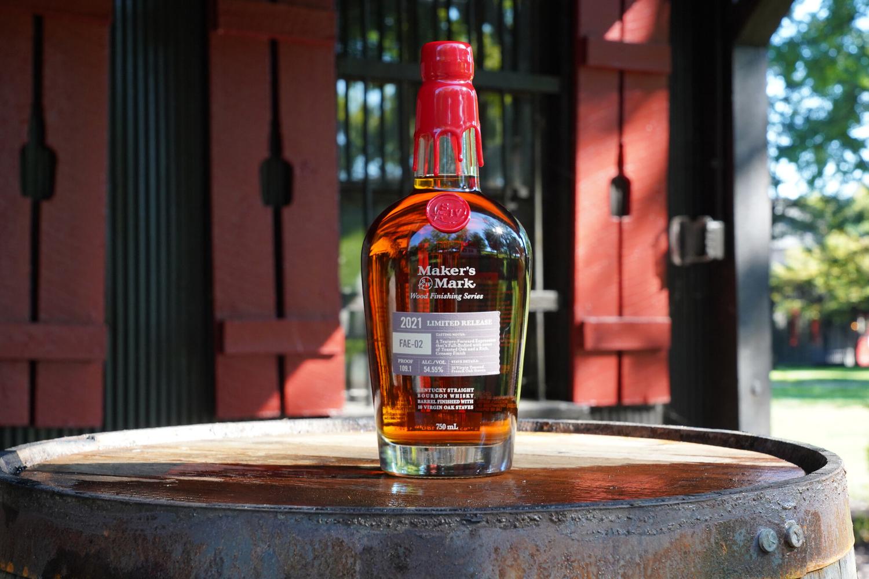 Maker's Mark FAE-02 bottle